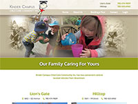 Kinder Campus Homepage